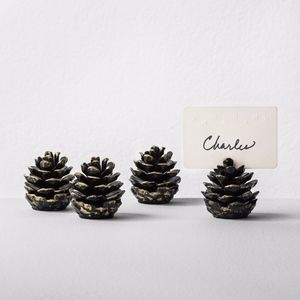 Hearth & Hand Magnolia Pinecone Placecard holders